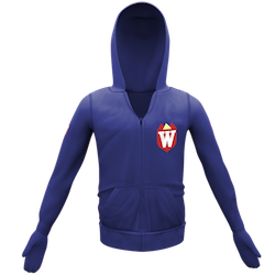 Blue Hoodie with Shield