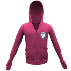 Pink Hoodie with Shield